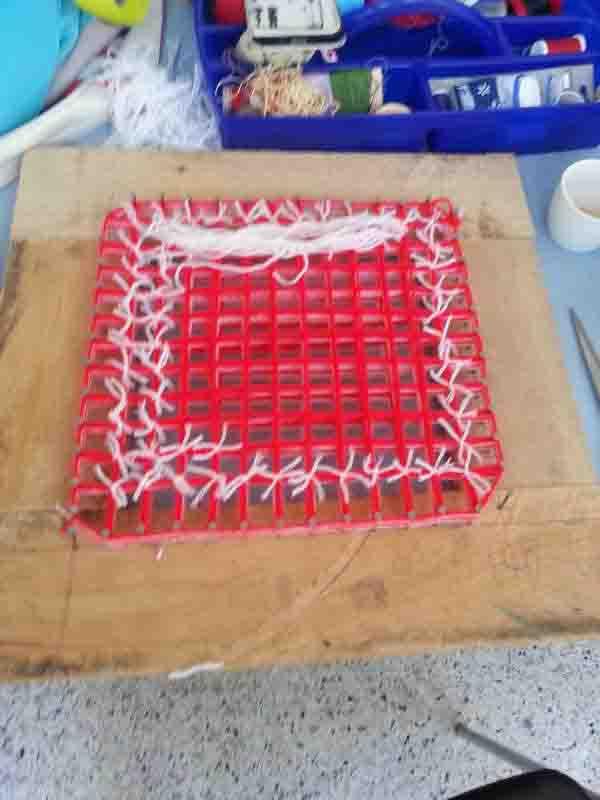 atelier tapis ponpon