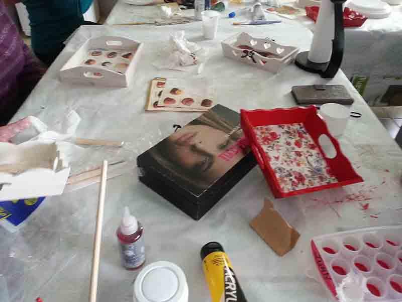 atelier resine cristal