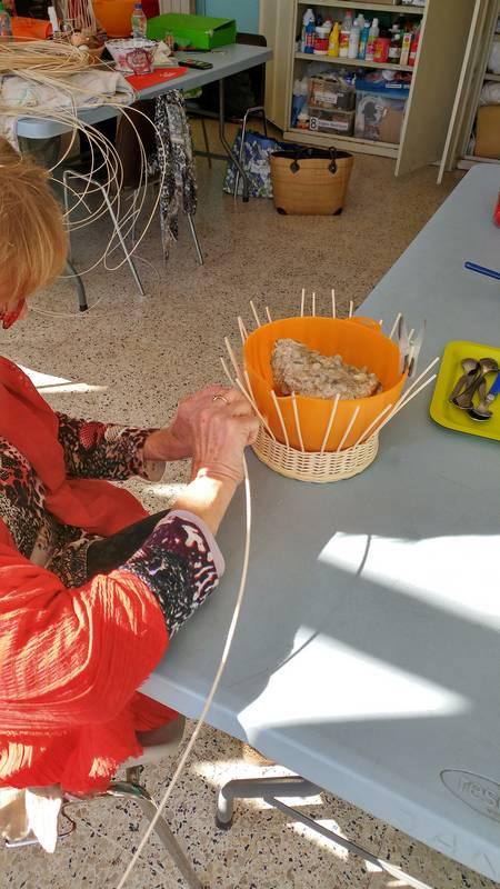 atelier corbeille en osier