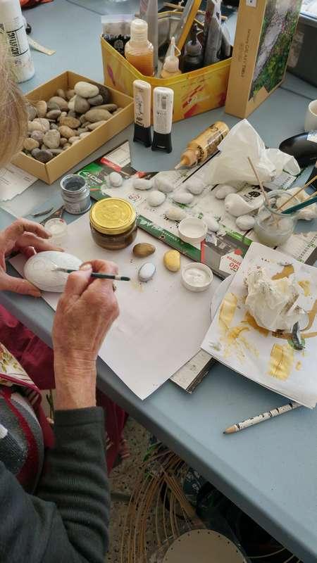 peinture sur galet