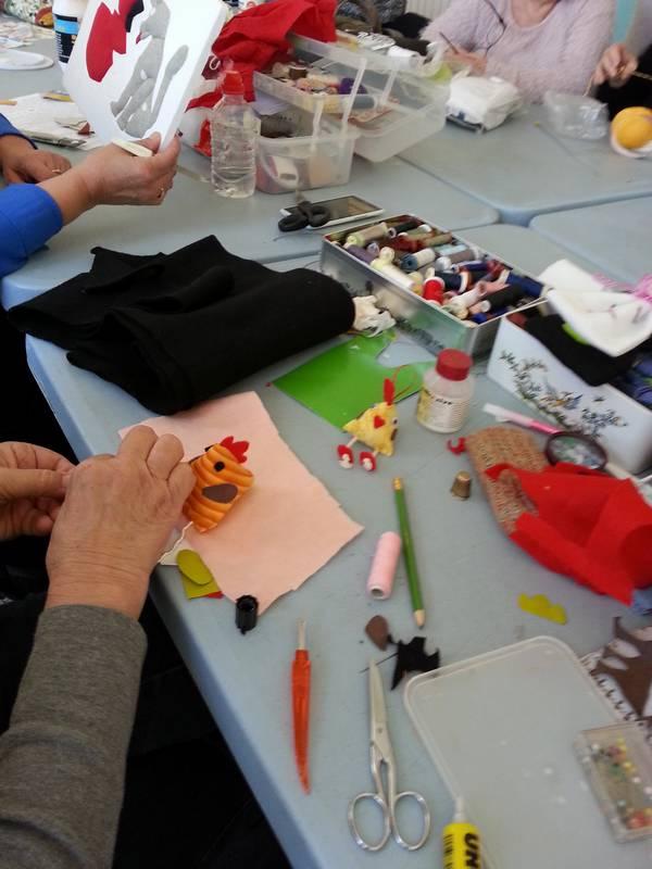 atelier decoration de Paques