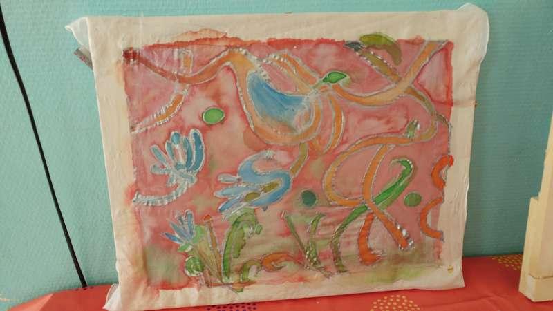 atelier peinture sur soie