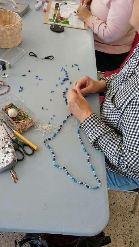 atelier perles en papier