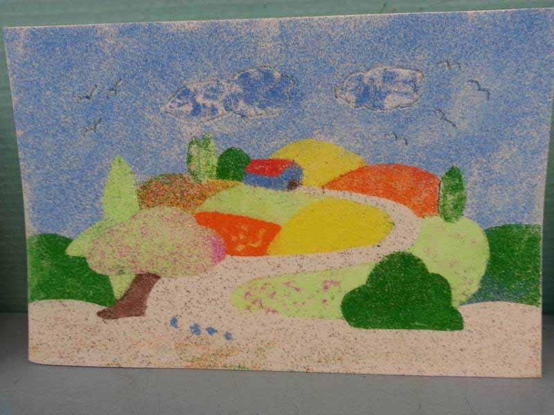 tableau de sables