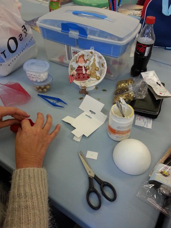 atelier decoration de Noel