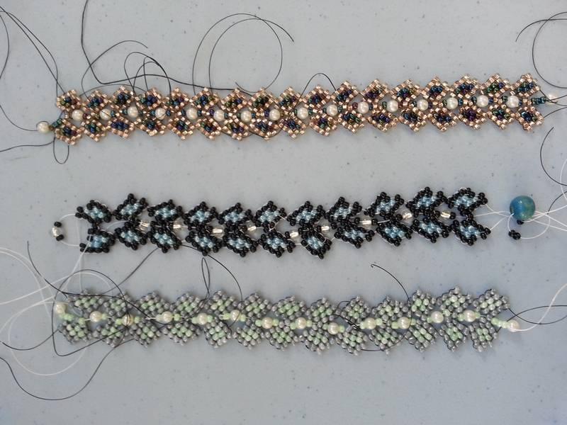 perles tissees