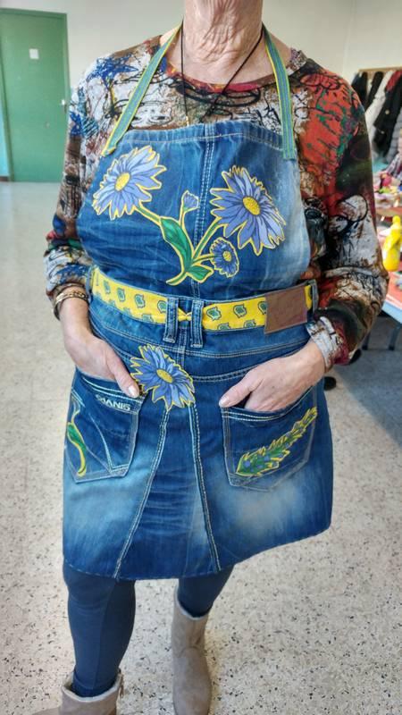recyclage jean