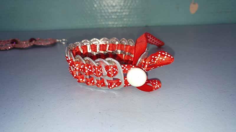 bracelet capsule canette