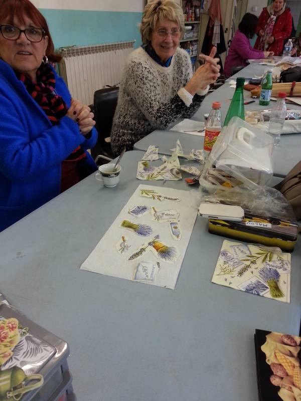 atelier decoration de tuile