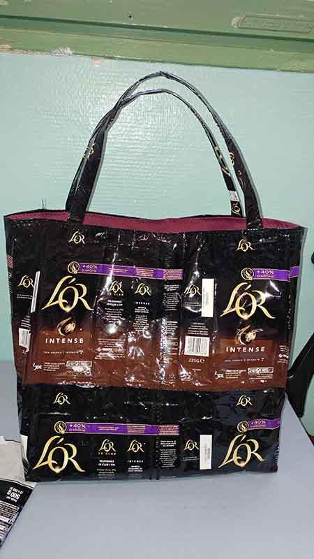 sac papier café