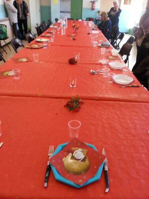 repas de Noel