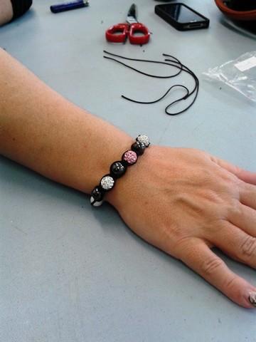 Antoinette bracelet shambala fev 2014